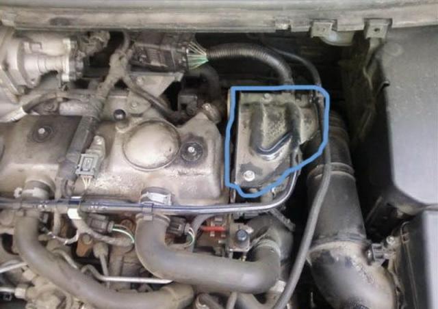 замена топливного фильтра ford tdci 1.8