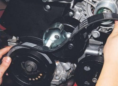 форд фокус 2 замена ремня генератора