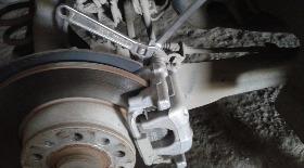замена задних тормозных колодок фольксваген пассат б2