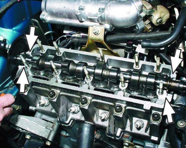 Переборка двигателя ваз 2110 16 клапанов