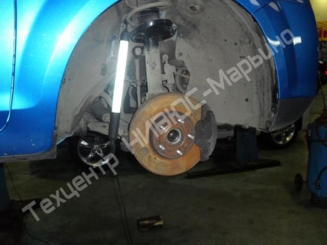 366Видео замена заднего ступичного подшипника форд фокус 1