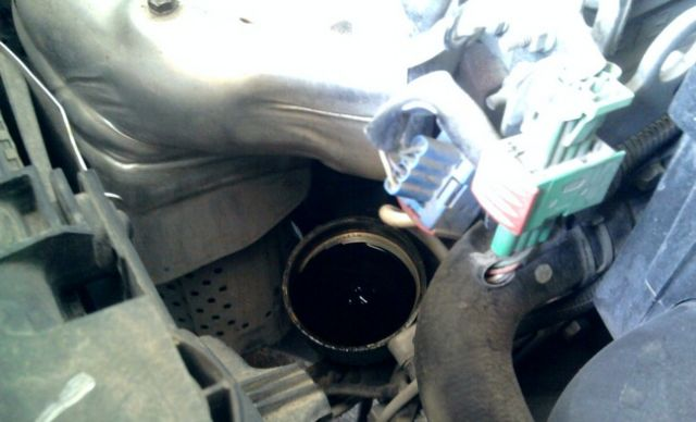 Замена масла в двигателе на ситроен с4 своими руками 59