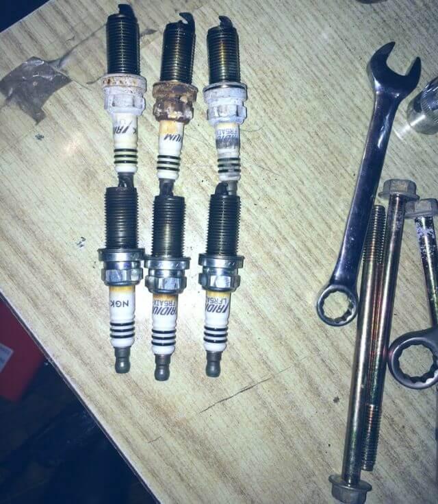 Замена свечей зажигания на Ниссан Теана. Инструкция как заменить свечи Nissan Teana J32 своими руками