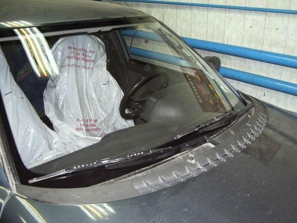 Замена лобового стекла ВАЗ 2110 64