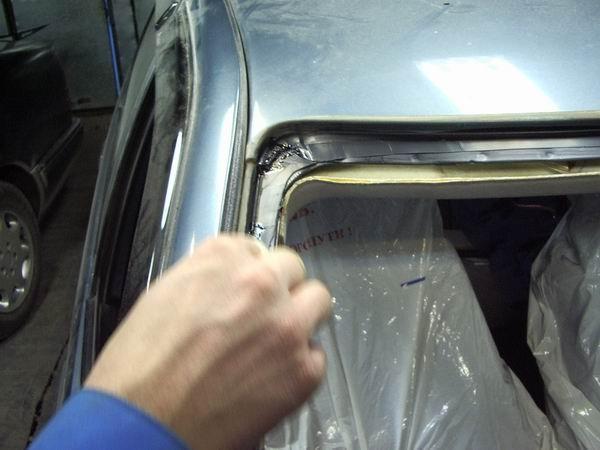 Замена лобового стекла ВАЗ 2110 своими руками - ВАЗ Ремонт 45