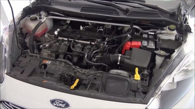 Форд фиеста 2007 года как менять масло