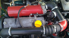 Установка компрессора AUTO TURBO 0.5 бар на ВАЗ-2109